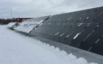 Let it snow: how solar panels thrive in winter weather