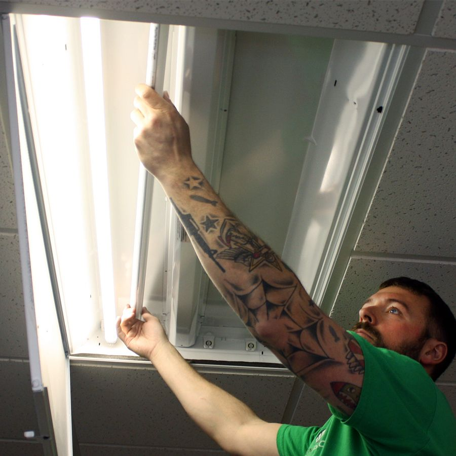 Genpro Donates Installation Of Led Lighting For The Black