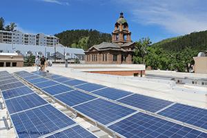 small business solar deadwood