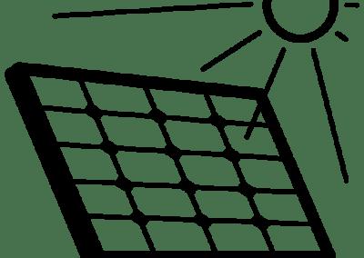 2kW Solar Power System for Compressor