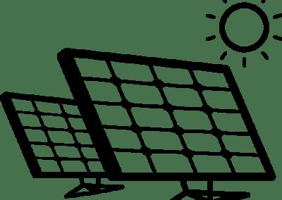 6 Panel 2.3 HP Solar Water Pump