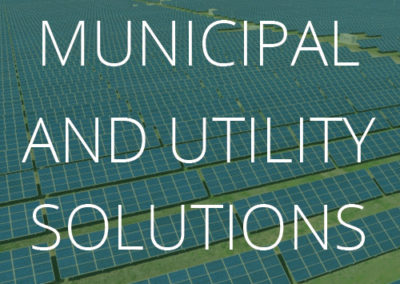 Municipal and Utility Energy Solutions