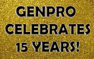 GenPro Celebrates 15 Years