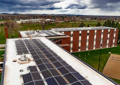 Black Hills State University Thomas Hall Solar