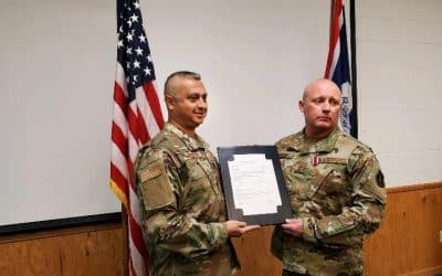 Craig Buckley PowerGen Customer Experience Specialist Retires After 25 Years From Air National Guard