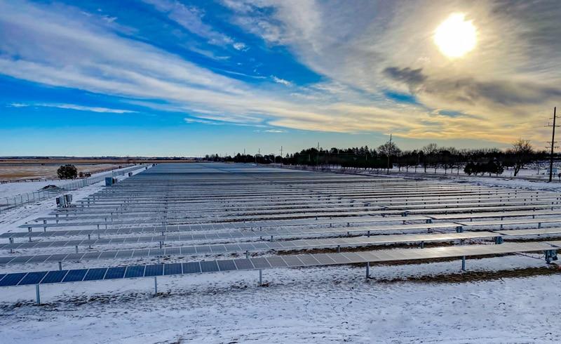 Scottsbluff, Nebraska 5.2MW Community Solar