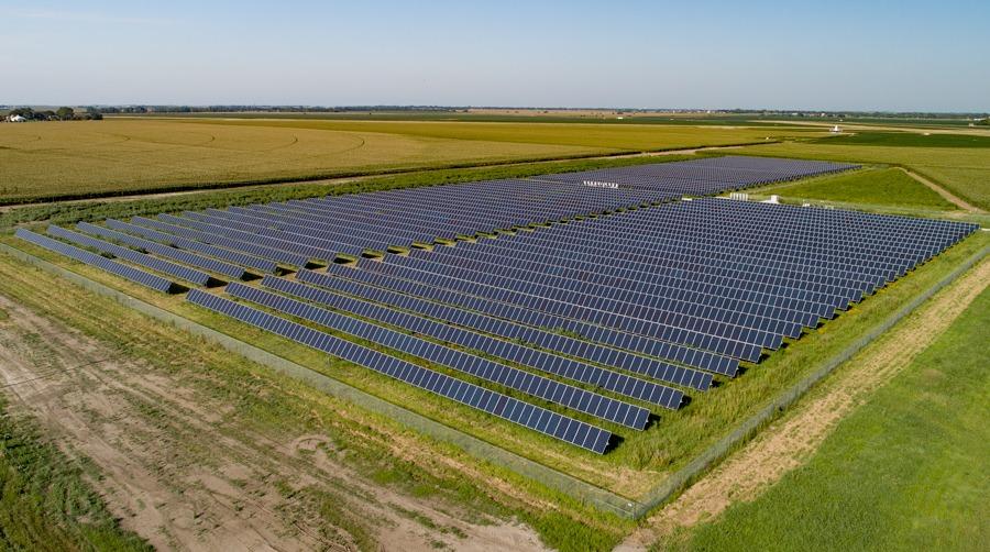 Hastings Nebraska Community Solar